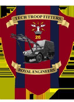 Tech Troop Fitters Plaque